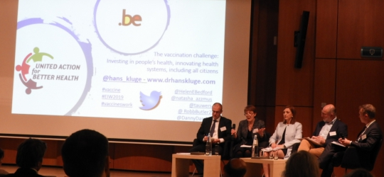 EFN Invited to a WHO High-Level Event on Vaccination