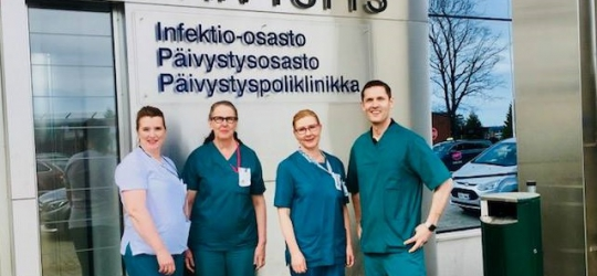 IND2018 – The Finnish Nurses Association invites their parliamentarians to become nurses for one day.