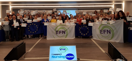 EFN Members in Athens, Greece for the 110th EFN General Assembly