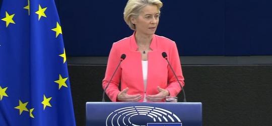 Ursula von der Leyen set out her vision for the year ahead to MEPs in Strasbourg.