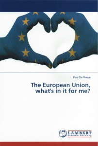Book Cover - The EU What's in it for me