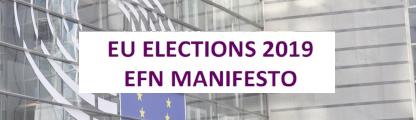 Go to EU Elections 2019 EFN Manifesto