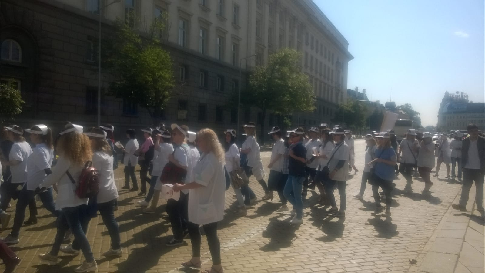 Strike Bulgaria nurses